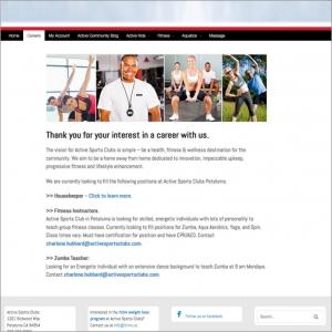 Active Sports Clubs - Petaluma - careers
