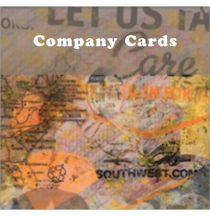 Customized corporate cards