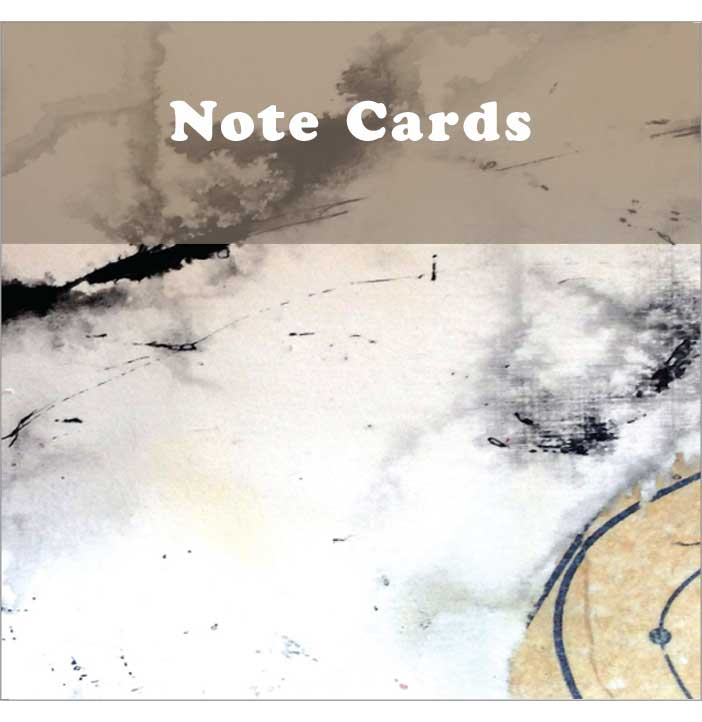 Note cards - various designs