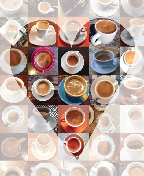 Espresso Valentine card by Ellen Tobe