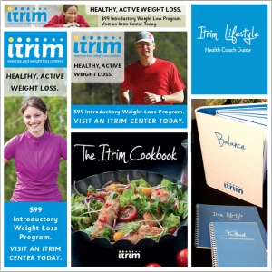 Itrim - print ads, publications, marketing collateral