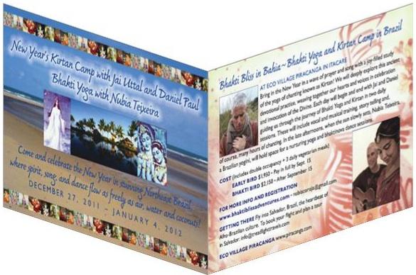 Bhakti Bliss Postcard