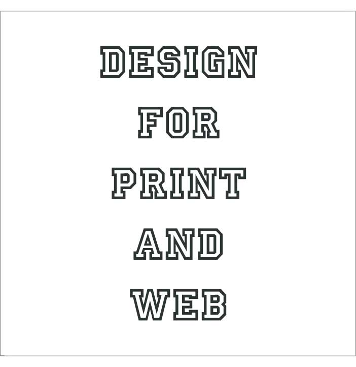 Graphic design for print and web.