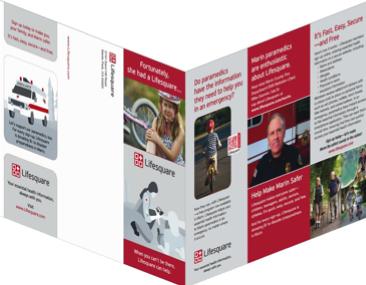 Isometric image of Lifesquare brochure