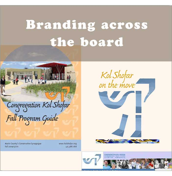 Branding across the board - multiplatform branding. Click for online program guide.