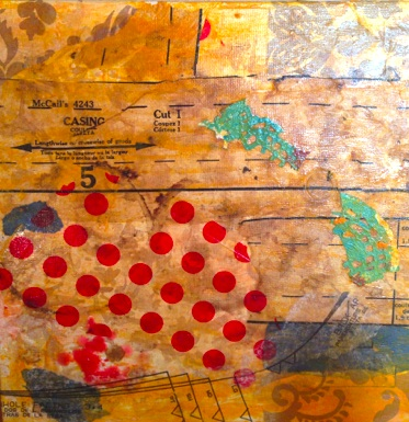 Ellen Tobe mixed media December 2013