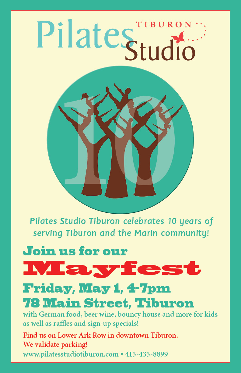 Pilates Studio Tiburon Ten Year Anniversary Celebration
