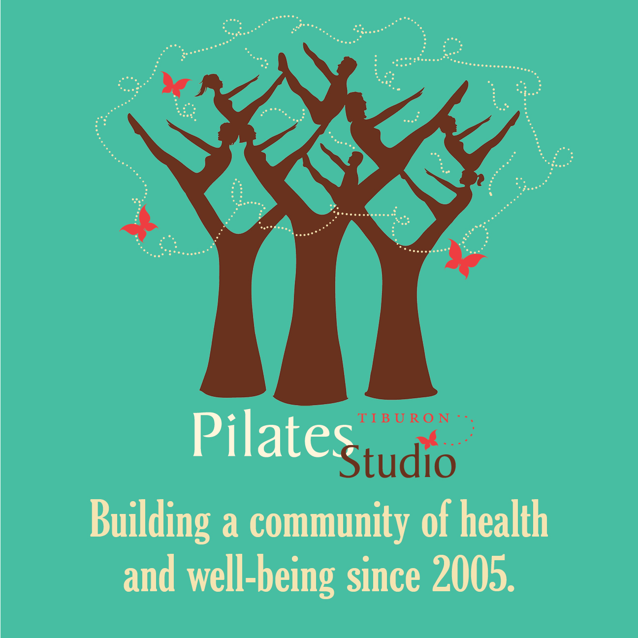 PilatesStudioTiburon10YearsT-shirt front