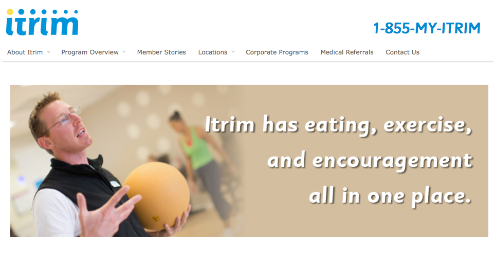 Itrim has eating, exercise, and encouragement all in one place.