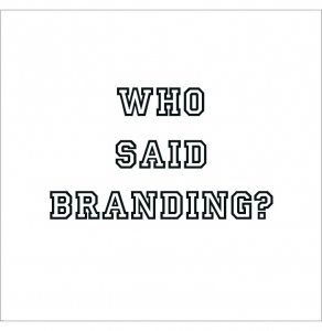 Who said branding? Graphic design for branding and all your marketing material.
